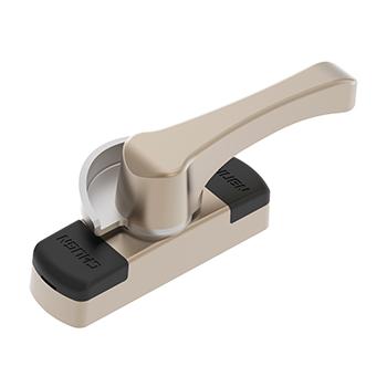 CGYY035-LS 美式月牙鎖(短柄)